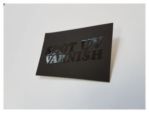 UV Varnish Print Process: custom printing watford
