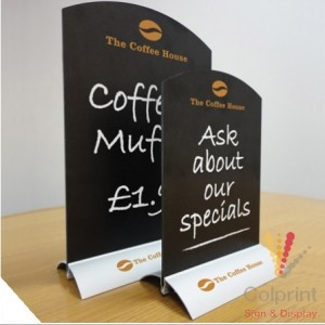 Exhibition Stand Ideas - chalkboard